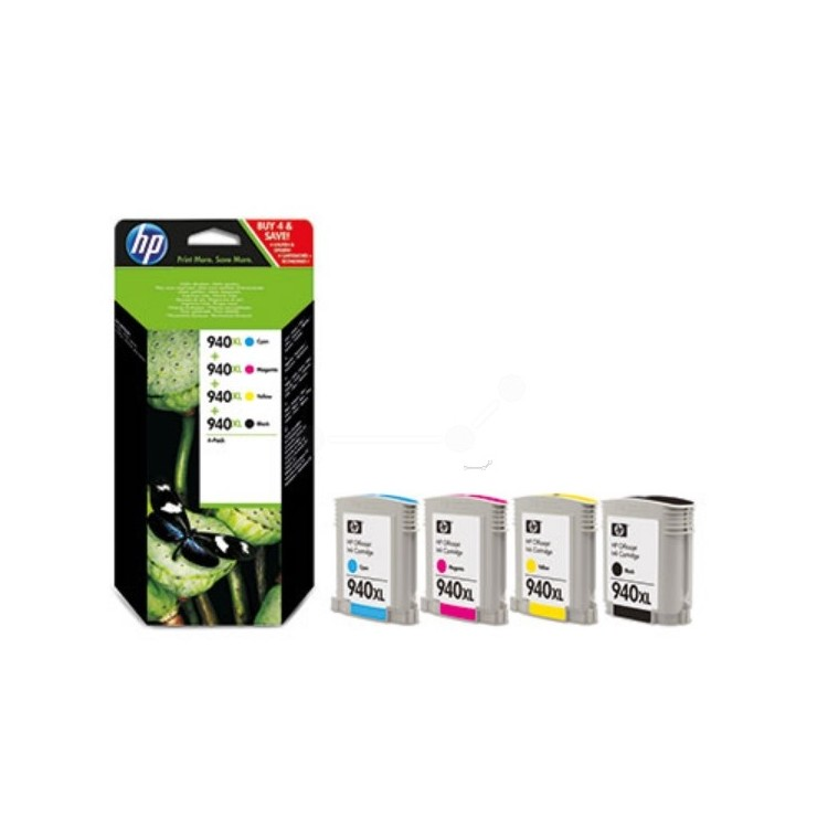 Originale HP 940XL Cartuccia di inchiostro multi pack